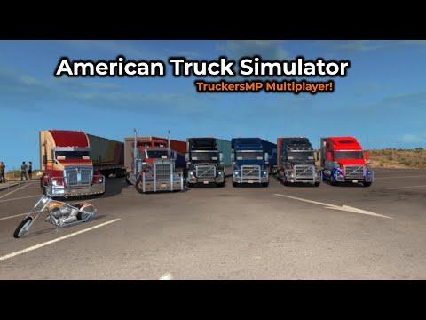 American Truck Simulator - TruckersMP -- Livestream 04/05/2019