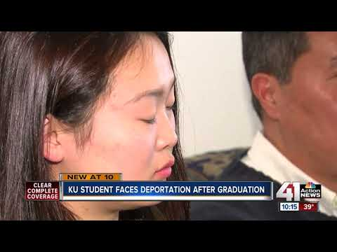KU student faces deportation after graduation
