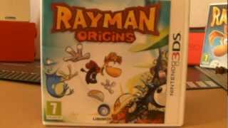 Unboxing et Direct Live Rayman Origins 3DS