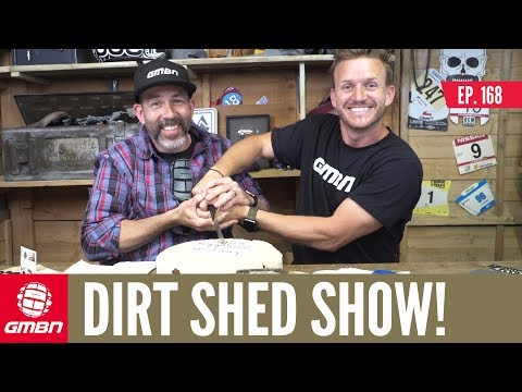 """The Perfect Body For Mountain Biking""""   Dirt Shed Show Ep. 168"""