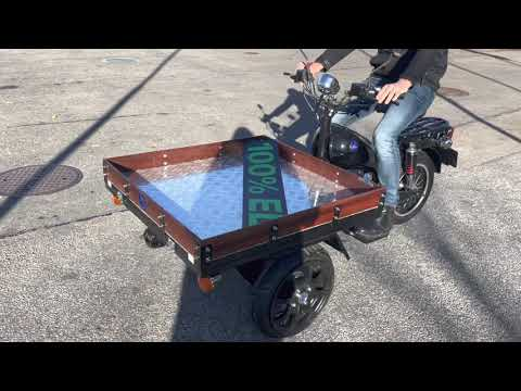 Flakmoped Mgb Starbridge Electric Tricycle