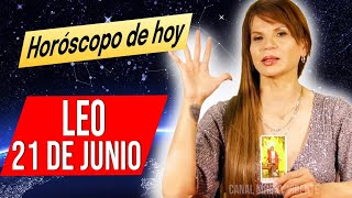 DESCUBRES QUIEN TE MIENTE ? MHONI VIDENTE ???? horóscopo DIARIO – horoscopo de hoy LEO 21 DE JUNIO 2021