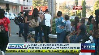 Más de 400 empresas formales cerrarán puertas debido a la crisis sanitaria