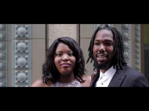 Love Stories with Wedding Paper Divas Couple: Ebonique & Julius