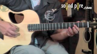 McPherson 3.5XP Adirondack/Flamed Acacia #1781 Acoustic Guitar Demo