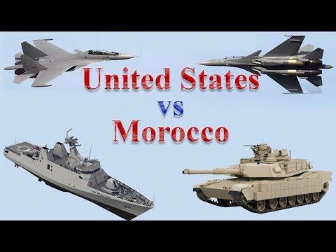 United States vs Morocco Military Power 2017