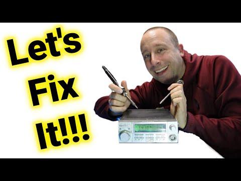 Classic Ham Radio | Memory Battery Change | Mystery Button | Worth Fixing?