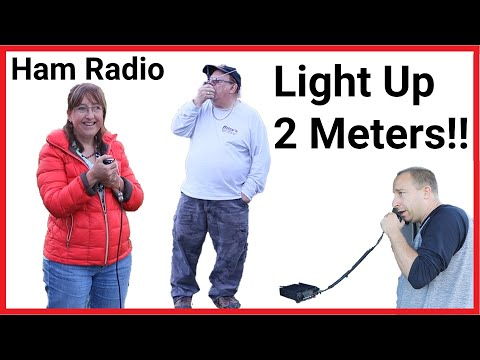 #MNHR Ham Radio - Light Up 2 Meters Night!!!