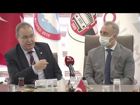 CHP EKONOMİ MASASI OTO GALERİCİ ESNAFIYLA BİR ARAYA GELDİ 03/03/2021