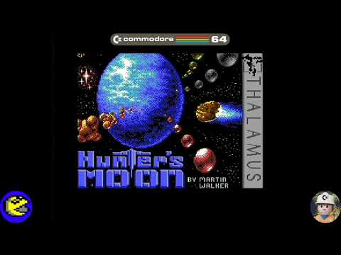 Hunter´s Moon loader, Commodore 64 - Real por S-Video