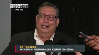 COMTECH apoya Programa Nacional de Cultura «Leer es Vivir» - Nicaragua