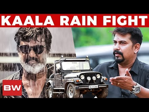 connectYoutube - Kaala's Rain Fight Sequence with Jeep! | Kaala Jeep Owner Reveals | Rajinikanth | US 186