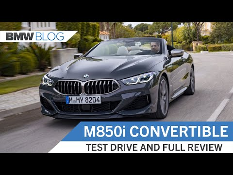 BMW M850i Convertible – Full Review and Test Drive