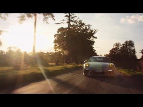 Paul Geudon and his Porsche 911 GT3.