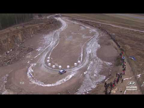 Rally Sweden Best of  Helicopter Shots