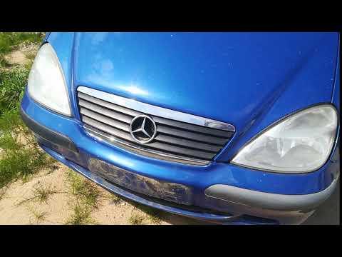 Mercedes-Benz A Klasė 2001 m dalys