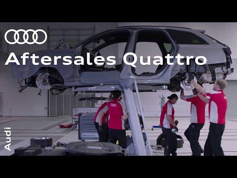 Audi Aftersales 2017: quattro