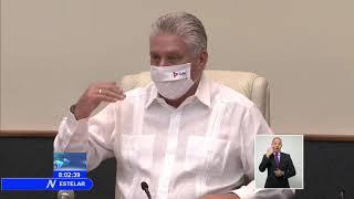 Cuba| Díaz-Canel continúa chequeo de las medidas ante la COVID-19