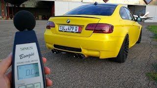 How LOUD my Armytrix BMW M3 is? – Decibel Test (Sub ENG)