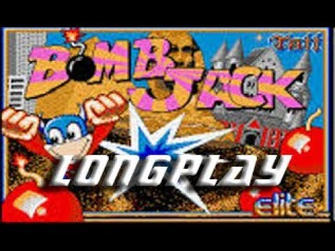 Longplay #165 Bomb Jack (Commodore Amiga)