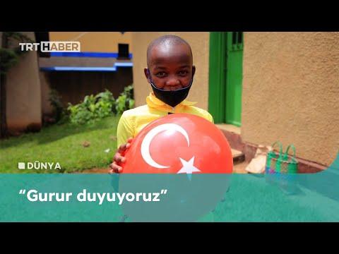 Ruandalı Müslümanlardan Türkiye'ye övgü