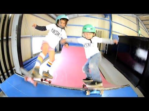 Kids Are Awesome! Sky - Awesome Skateboarder!