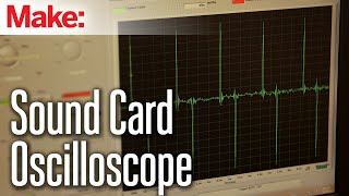 Weekend Projects - Sound Card Oscilloscope