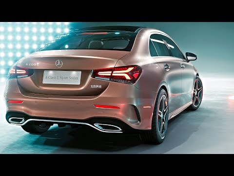 Mercedes A-Class Sedan (2019) World Premiere