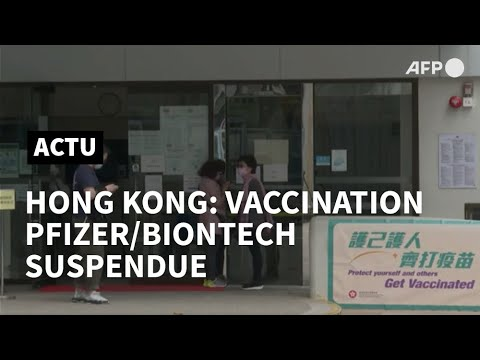 Hong Kong: la vaccination Pfizer/BioNTech suspendue   AFP