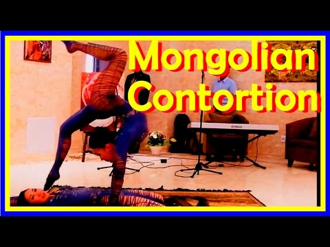 Mongolian Contortion Duo And European Amateur Contortion Duos