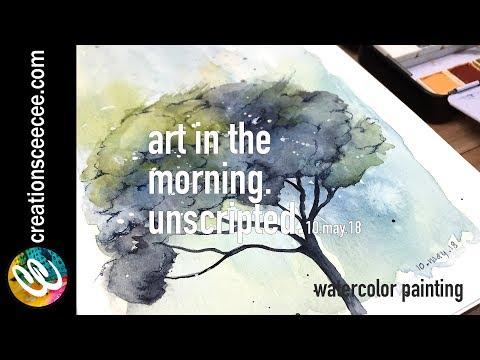 watercolor painting: how i got my creative mojo back