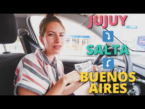 LAST DAY in Argentina for NOW! 🇦🇷 | Travelling from Jujuy to Salta to Buenos Aires travel vlog ✈️