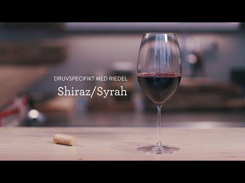 Druvspecifikt med Riedel - Shiraz/Syrah