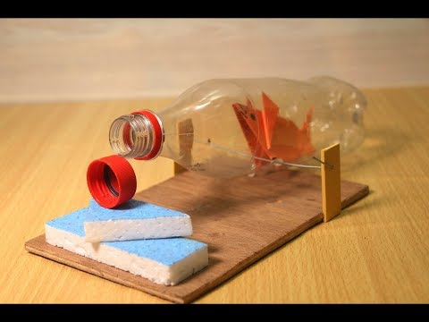 Make Mouse Trap Machine With Plastic Bottle - MICE