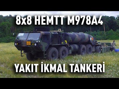 8×8 HEMTT M978A4   Yakıt İkmal Tankeri