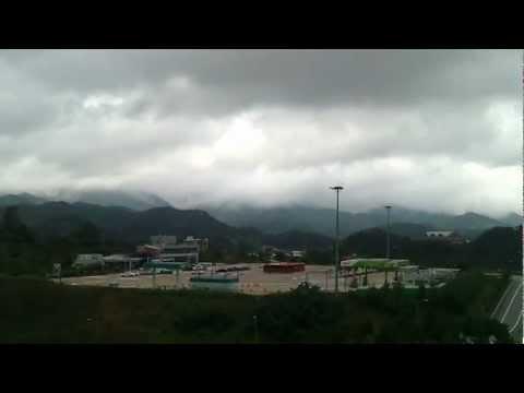 Between Boryeong and Busan