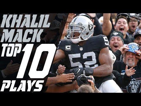 Khalil Mack Top 10 Plays of the 2016 Season | NFL Highlights