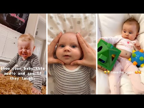 Funny Confusing baby - Cute video Tiktok #74 #shorts