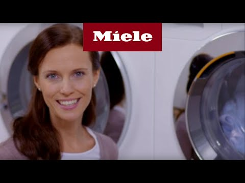 Så här använder du Miele W1 tvättmaskin med automatisk dosering - Miele TwinDos