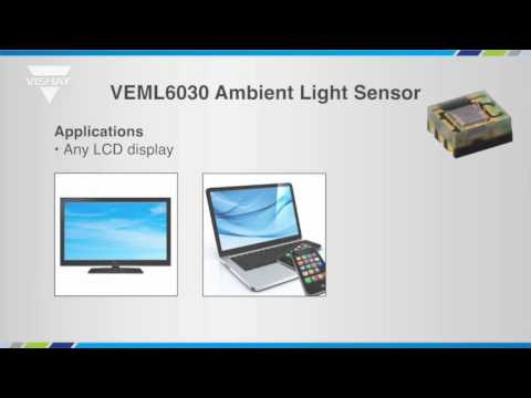 Optoelectronics: VEML6030 Ambient Light Sensor