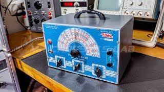Audio Signal Generator Restoration EICO 377