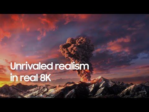 QLED 8K: Unrivaled realism in real 8K   Samsung