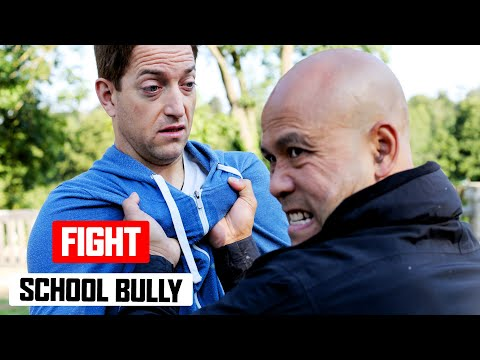 How do you fight a school bully ✅  Lesson 1