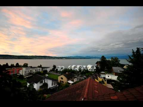 Sunset in Richterswil