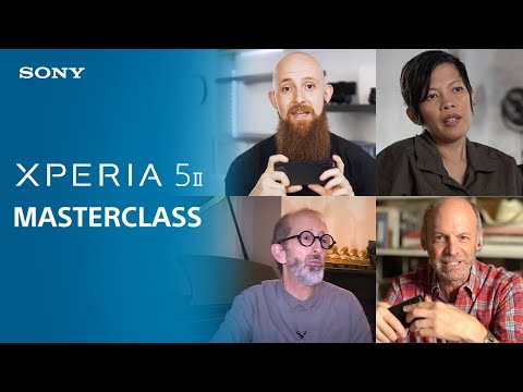 Xperia 5 II Masterclass | Voices from professionals