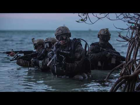 DFN: Under The Sea - Company C 2d Reconnaissance Battalion, KEY WEST, FL, UNITED STATES, 01.26.2018