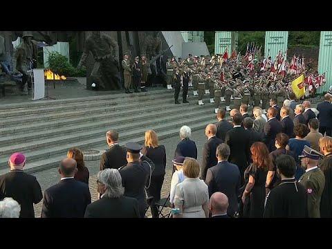 Poland marks Warsaw Uprising aganst Nazi occupation 77 years ago