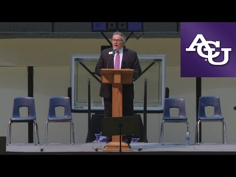 ACU Chapel with Steve Cooner; September 26