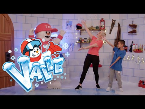 Trainiere mit Valle | Skischul-Song