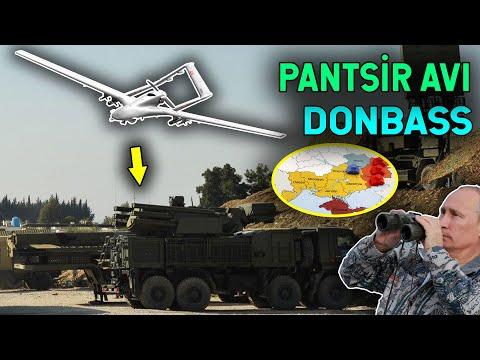 TB2 SİHA'lar, Donbass'ta Pantsir-S1'leri Yakaladı!